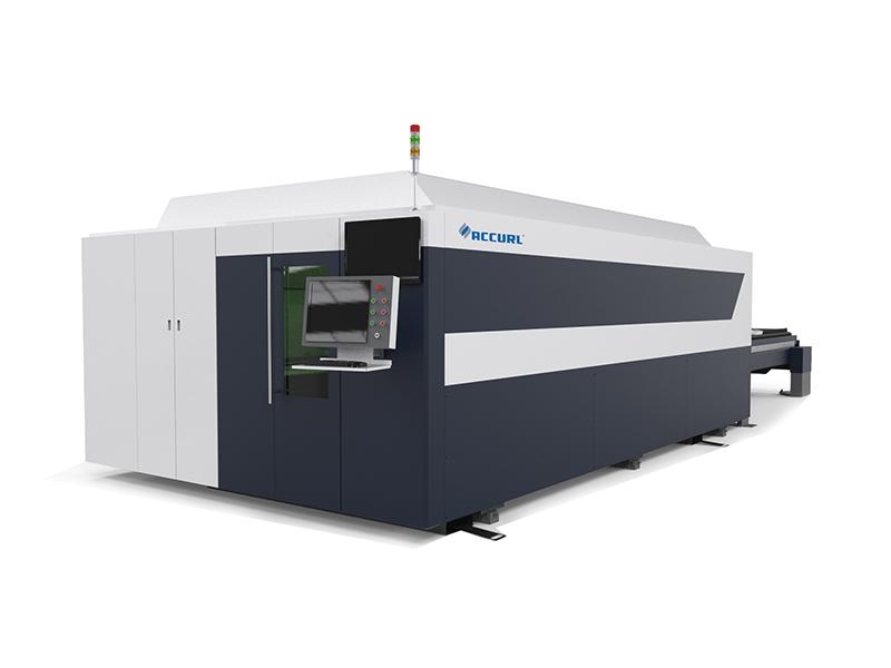 máquina de corte por láser cnc metal