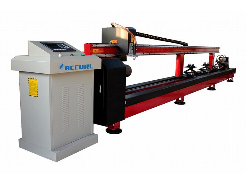 Máquina de corte de perfís de tubos CNC