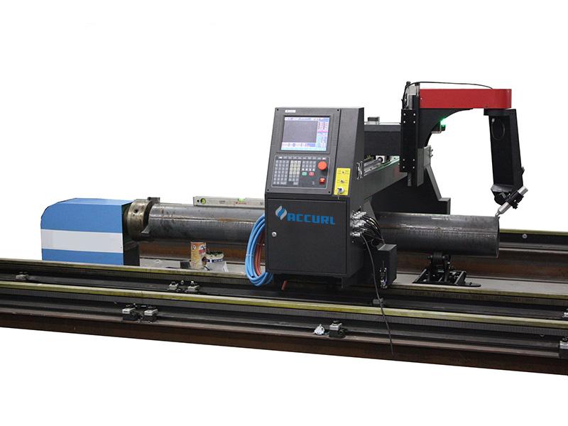 máquina de corte de tubo de plasma cnc